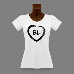 T-Shirt slim Bâle Campagne - Coeur BL