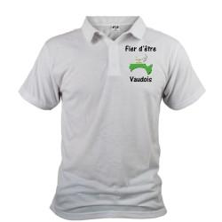 Uomo Polo Shirt - Fier d'être Vaudois