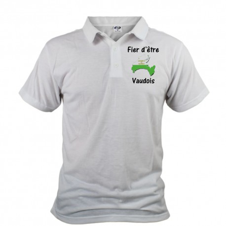 Polo shirt homme - Fier d'être Vaudois