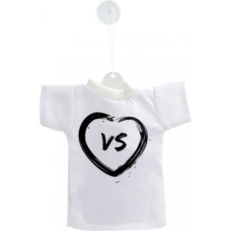 Mini T-Shirt Valaisan - Coeur VS - pour votre voiture