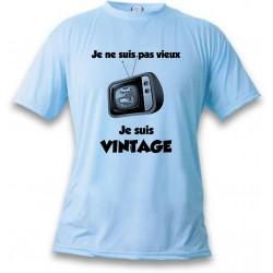 Men's Funny T-Shirt - Vintage Television