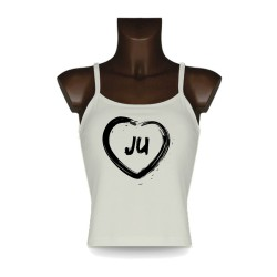 Women's Top débardeur Jurassien - Coeur JU, Natural