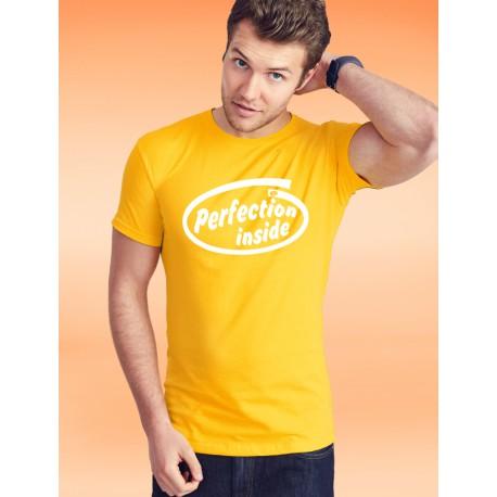 Uomo FOTL cotone T-Shirt - Perfection inside, 34-Girasole