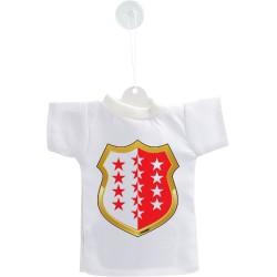 Mini T-Shirt - Blason Valaisan - pour votre voiture