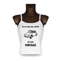 Débardeur - Vintage Coccinelle