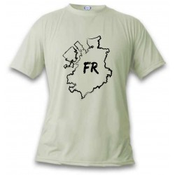 Women's or Men's T-Shirt - Fribourg brush borders