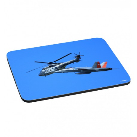FA-18 & Super Puma Mousepad