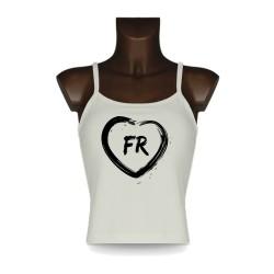 Women's Fribourg Top - FR Heart
