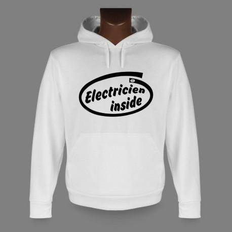 Sweat à capuche - Electricien inside