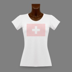 T-Shirt slim - Cantons Suisses