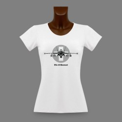 Women's T-Shirt - Aircraft - Swiss FA-18 Hornet