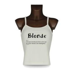 Débardeur - Blonde Concept