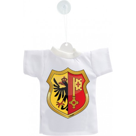 Car's Mini T-Shirt - Geneva coat of arms