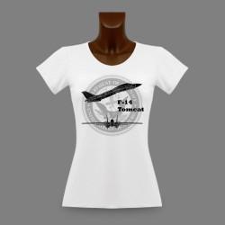 T-Shirt slim dame - F-14 Tomcat