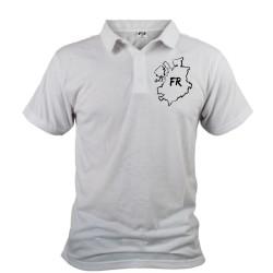 Uomo Polo Shirt - Friburgo confini e lettere FR