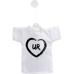 Uri Car's Mini T-Shirt - UR Heart