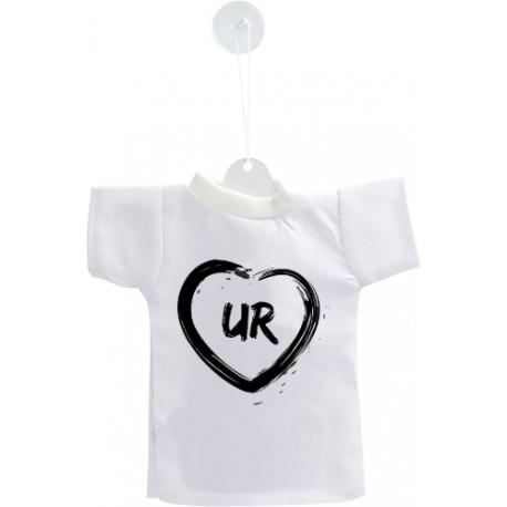 Uri Car's Mini T-Shirt - UR Heart