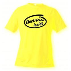 T-Shirt - Electricien Inside