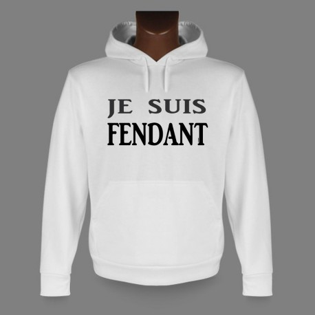 Kapuzen-Sweatshirt - Je suis FENDANT