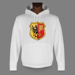 Kapuzen-Sweatshirt - Genfer Wappen