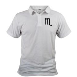 Uomo Polo Shirt - segno astrologico Scorpione
