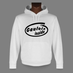 Hooded Funny Sweat - Gaulois inside