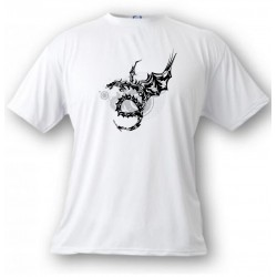 Kinder T-Shirt - Dragon Universe, White