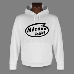 Kapuzen-Sweatshirt - Mécano inside
