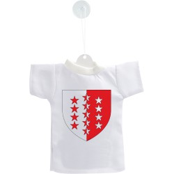 Car's Mini T-Shirt - Valais coat of arms