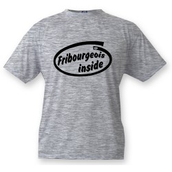 Bambini T-shirt - Fribourgeois inside, Ash Heater