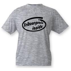 Bambini T-shirt - Fribourgeois inside, Ash Heater