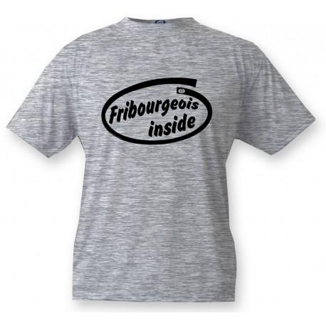 T-shirt enfant - Fribourgeois inside, Ash Heater