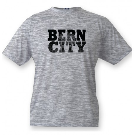 T-Shirt - BERN CITY Black, Ash Heater