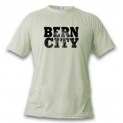 T-Shirt - BERN CITY Black, November White