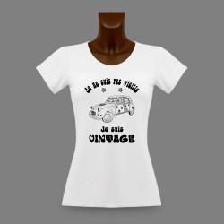 Donna moda T-shirt - Vintage Hippie Deuche