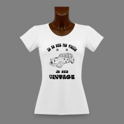 Women's funny fashion T-Shirt -  Vintage Hippie Deuche
