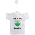 Car's Mini T-Shirt - Fier d'être Vaudois