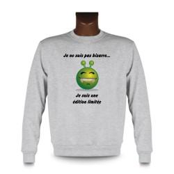 Men's Sweatshirt - Edition limitée, Ash Heater