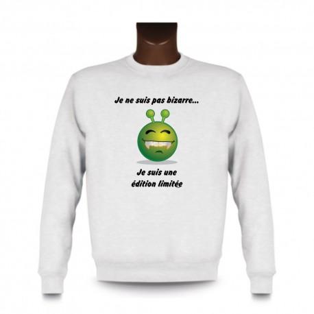 Herren Sweatshirt - Edition limitée, White