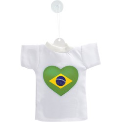 Mini T-shirt - Cuore brasiliano