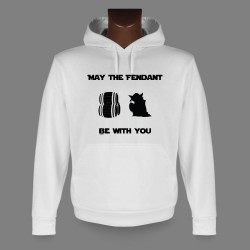 Kapuzen-Sweatshirt - May the Fendant be with You