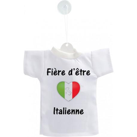 Mini T-Shirt - Fière d'être Italienne