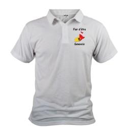Uomo Polo shirt - Fier d'être Genevois