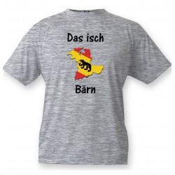 Men's T-Shirt - Das isch Bärn, Ash Heater