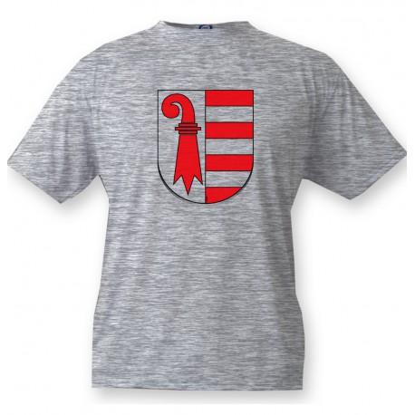 T-Shirt - Jura Wappen, Ash Heater
