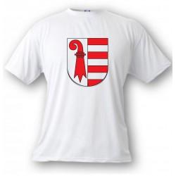 T-Shirt - Jura Wappen, White