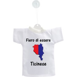 Car's Mini T-Shirt - Fiero di essere Ticinese