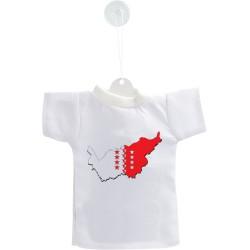 Mini T-Shirt - Frontières Valaisannes 3D