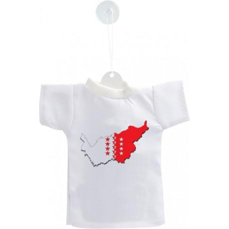 Mini T-Shirt - 3D Walliser Grenzen
