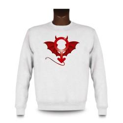 Herren Sweatshirt - Devil Man